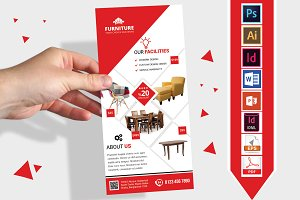 Rack Card | Furniture Shop DL Flyer