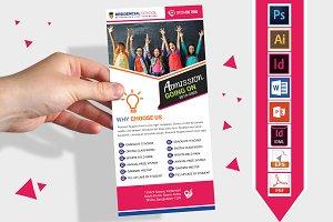 Rack Card | School DL Flyer Vol-03