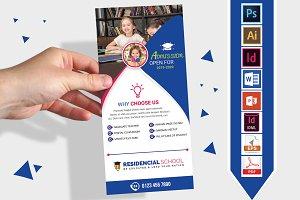 Rack Card   School DL Flyer Vol-02
