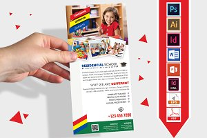 Rack Card | School DL Flyer Vol-01
