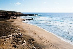 Beach in Canary Island