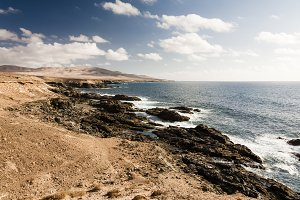 Seascape in Canary island
