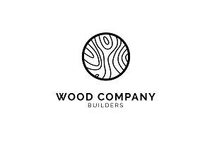 Wood Pattern Logo