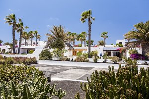 Luxury village in Canary island