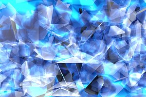 3d rendering illustration of glass s