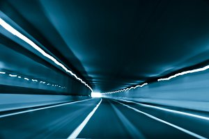 Driving fast in a tunnel