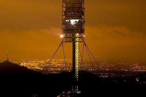 Communications tower of Collserola