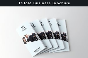 Trifold Clean Brochure