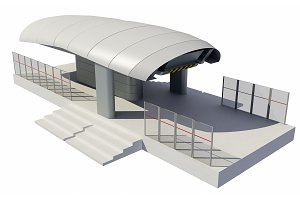 Illustration of Cableway Station
