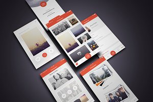 Photo Collection iOS UI Kit-Sketch3