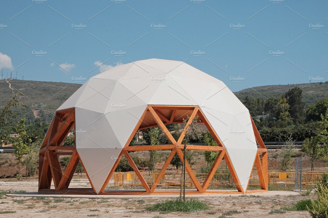 Geodesic Dome Building Materials