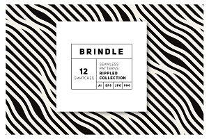 Brindle Seamless Patterns Set