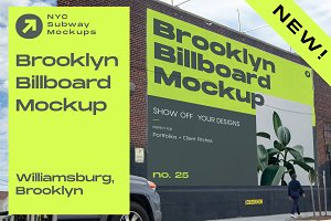 Brooklyn Billboard Mockup