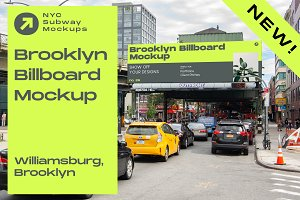 Brooklyn Billboard Mockup