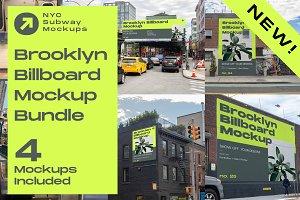 NEW Mockup Bundle Brooklyn Billboard