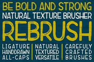 Rebrush Typeface