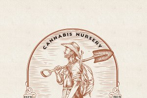 NOMAD CANNABIS NURSERY LOGO