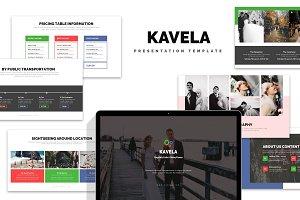 Kavela : Wedding Plan Google Slides