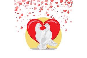 Doves Symbol of Love Valentine