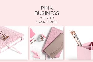 Pink Business (25 Images)