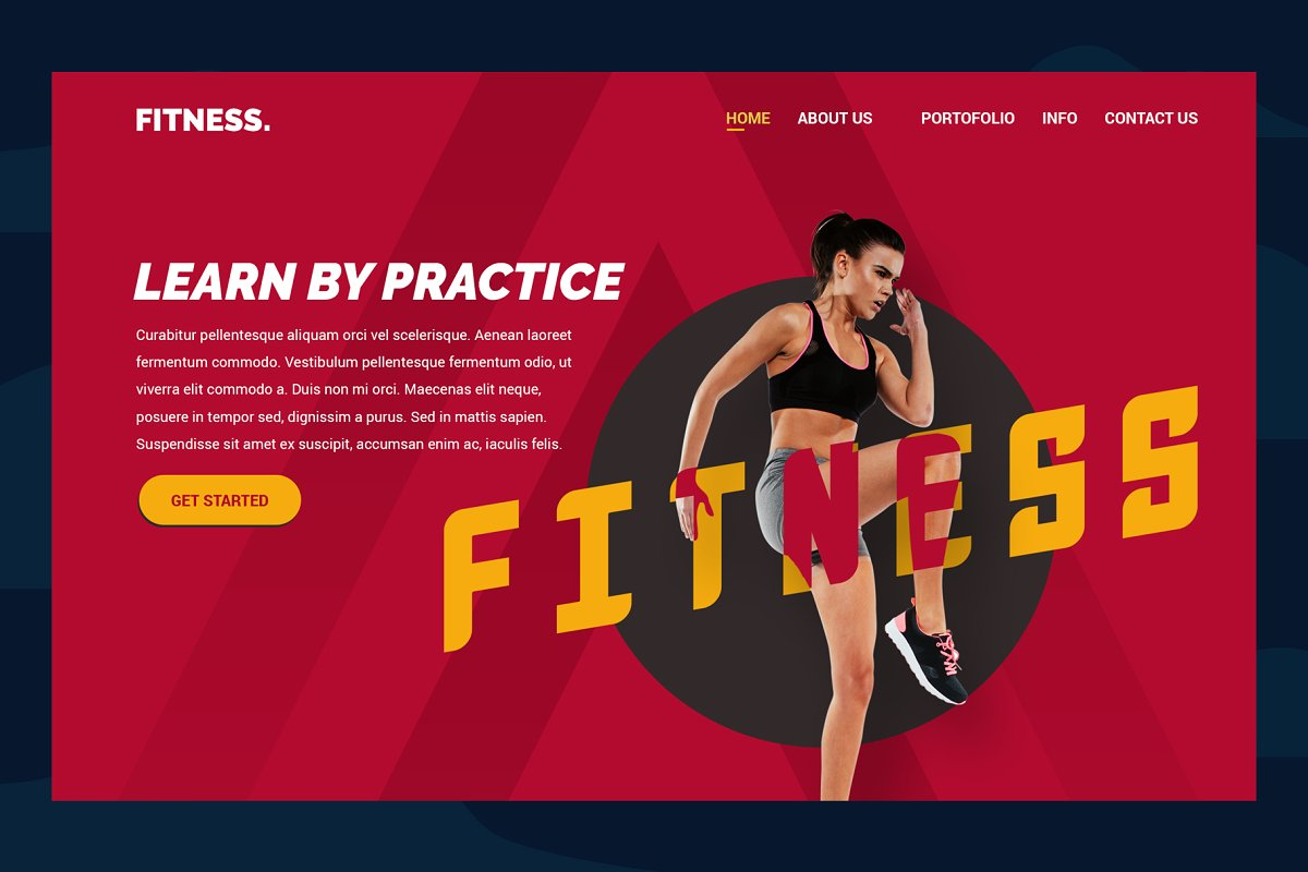 Fitness Practice Header Website