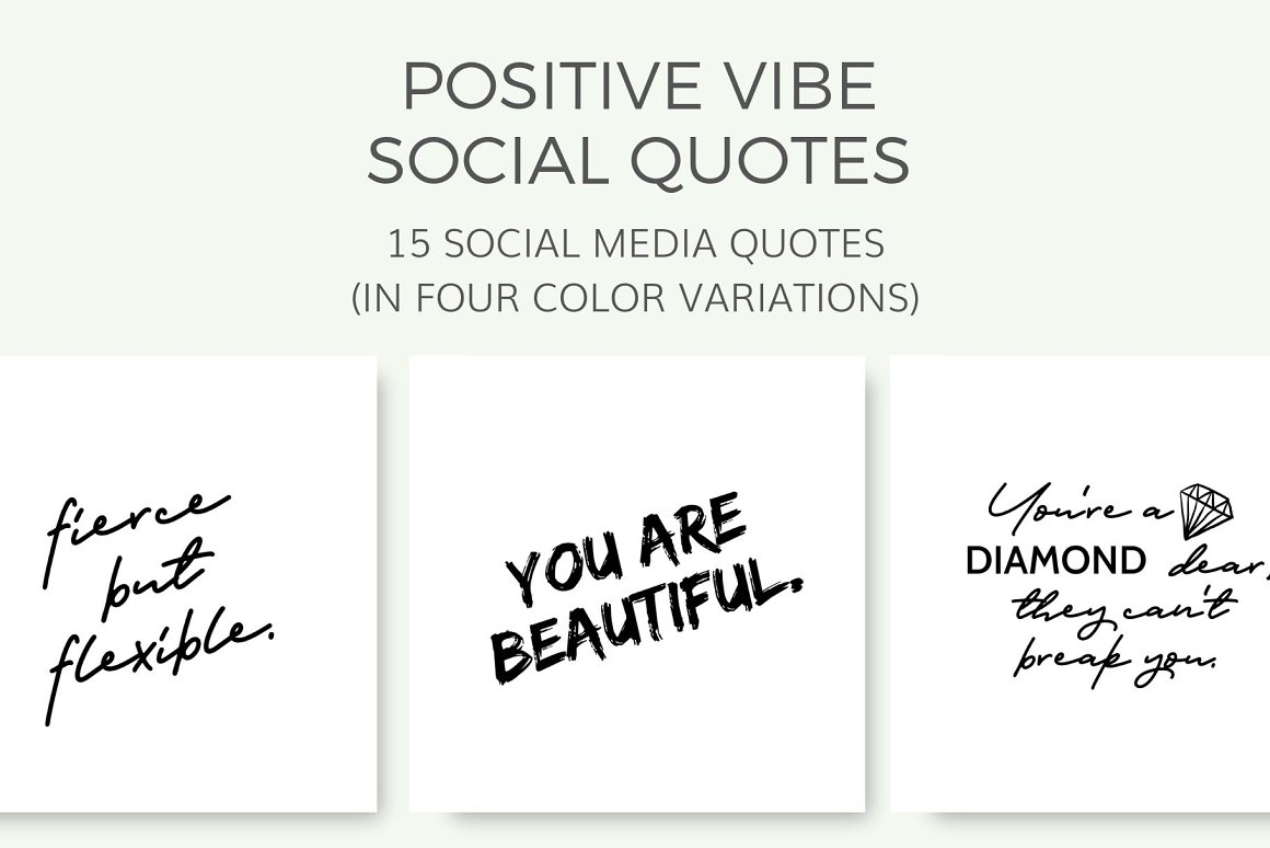 Positive Vibe Quotes (15 Images)