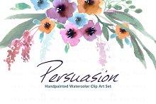 Persuasion-Watercolor Clip Art