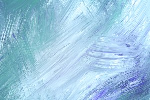 Teal brush stroke texture background