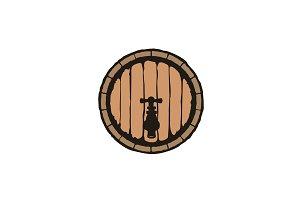 Old Beer Barrel logo design