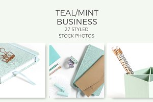 Teal/Mint Business (27 Images)
