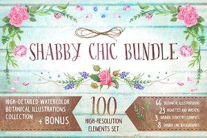Shabby Chic Bundle + Bonus