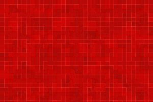 Red ceramic glass colorful tiles