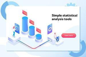 Analyzing statistics