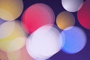 Blurred glowing background vector