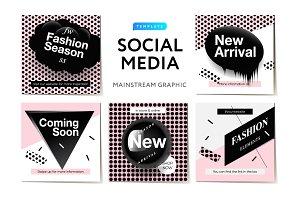Instagram Posts social templates