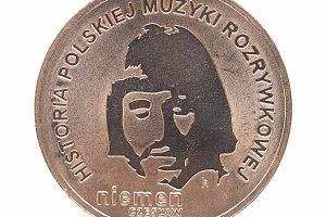 Polish 2 zloty coin Czeslaw Niemen