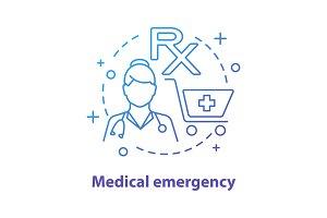 Pharmacy concept icon