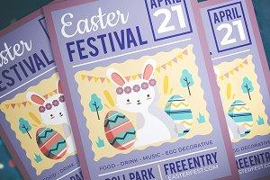 Easter Kids Festival Flyer