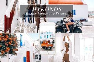 Mobile Lightroom Presets - Mykonos
