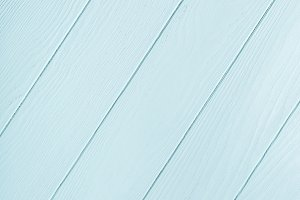 Blue, turquoise wooden plank