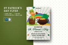 St. Patrick's Day Party Flyer - V967
