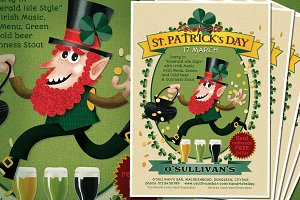 St. Patrick's Day Leprechaun Flyer