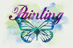 Watercolor Text Effects