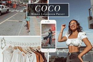 Mobile Lightroom Presets - Coco