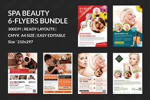 Spa & Beauty Flyers Bundle