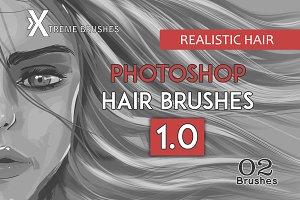 Photoshop Realistic Hair