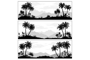 Landscapes with Palms