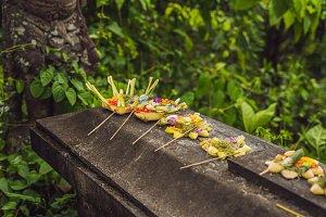 Balinese Hindu Offerings Called