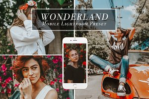 Mobile Lightroom Preset - Wonderland