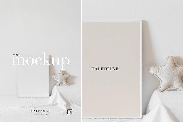 Graphics: HALFTOUNE - Mockup Frame | Nursery Frame Mockup